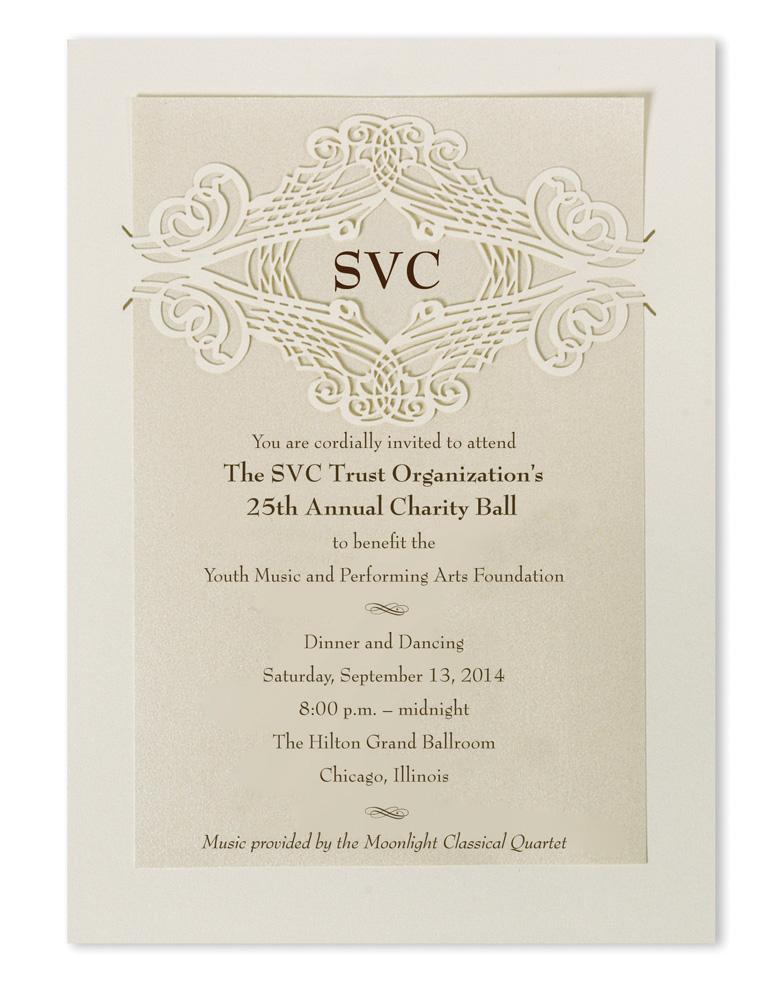 Laser cut calligraphy wedding invitations quot calligrafia