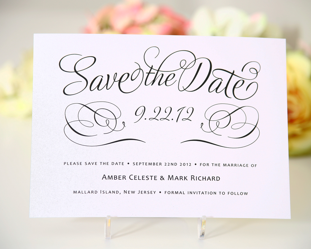 Wedding Save The Date Postcards: Wedding Invitations London