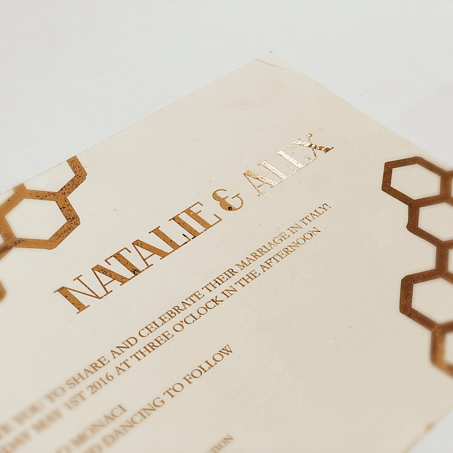 Bees or not to Bees Wedding Invitation